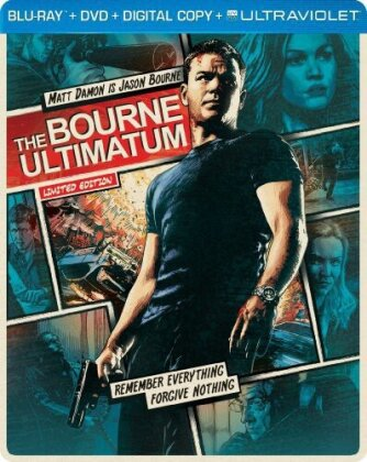 The Bourne Ultimatum (2007) (Steelbook, Blu-ray + DVD)