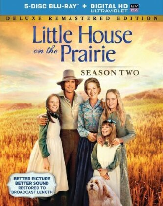 Little House on the Prairie - Season 2 (Deluxe Edition, Remastered, 5 Blu-rays)