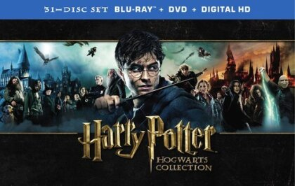 Harry Potter 1 - 7 - (Hogwarts Collection 31 Discs, with DVDs)