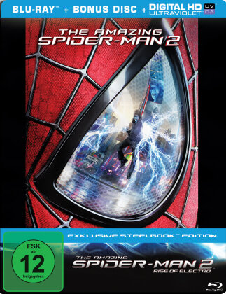 The Amazing Spider-Man 2 - Rise of Electro (2014) (Steelbook, 2 Blu-rays)