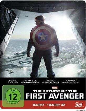Captain America 2 - The Return of the First Avenger (2014) (Steelbook)