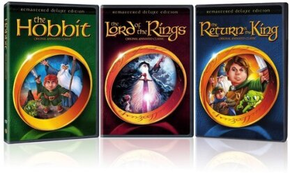 The Lord of The Rings / The Hobbit / The Return of The King (Deluxe Edition, 3 DVDs)