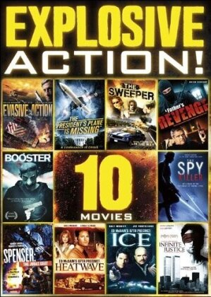 10-Film Explosive Action (2 DVDs)