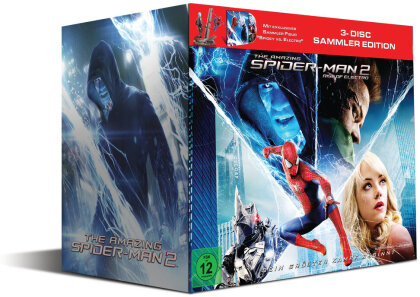 The Amazing Spider-Man 2 - Rise of Electro (Spidey vs. Electro Sammleredition inkl. Statue) (2014) (Blu-ray 3D + 2 Blu-rays)