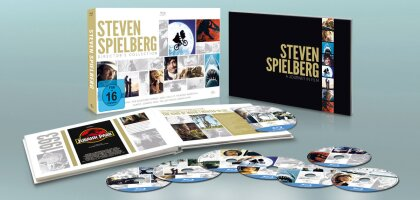Steven Spielberg Director's Collection (Limited Edition, 8 Blu-rays)