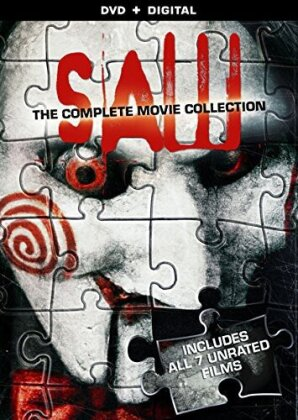 Saw 1-7 - The Complete Movie Collection (Unrated, 4 DVDs)