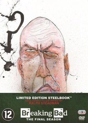 Breaking Bad - Saison 5.2 - Saison Finale (Limited Edition, Steelbook, 3 DVDs)