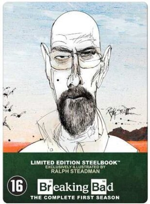 Breaking Bad - Saison 1 (Limited Edition, Steelbook, 2 Blu-rays)