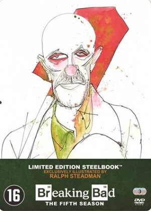 Breaking Bad - Saison 5.1 (Limited Edition, Steelbook, 3 DVDs)