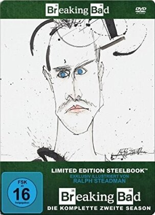 Breaking Bad - Staffel 2 (Limited Edition, Steelbook, 4 DVDs)