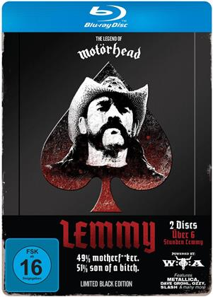 Lemmy Kilmister - Lemmy (Limited Black Edition) (Steelbook, 2 Blu-rays)