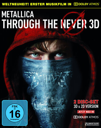 Metallica - Through The Never - (in Dolby Atmos) (Blu-ray 3D + Blu-ray)