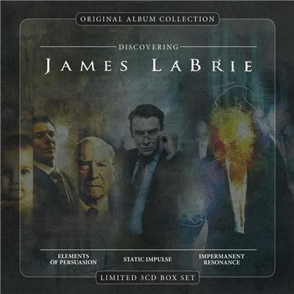 James Labrie - Discovering James Labrie (3 CDs)