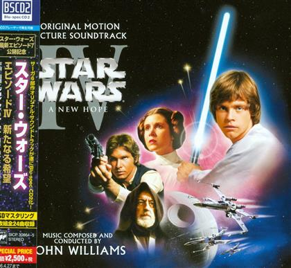 John Williams (*1932) (Komponist/Dirigent) - Episode 4 - A New Hope (Japan Edition, 2 CDs)