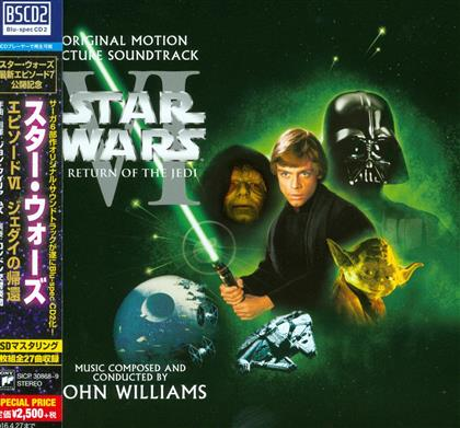 John Williams (*1932) (Komponist/Dirigent) - Episode 6 - Return Of The Jedi (Japan Edition, 2 CDs)