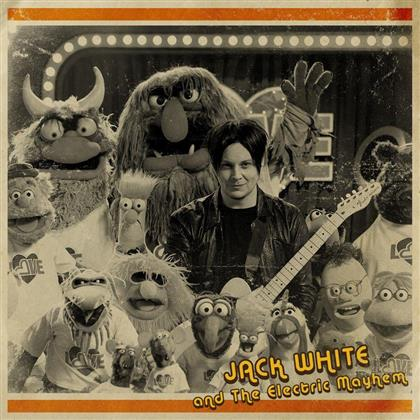 "Jack White (White Stripes/Dead Weather/Raconteurs) & The Electric Mayhem - You Are The Sunshine Of My Life - 7 Inch (7"" Single)"