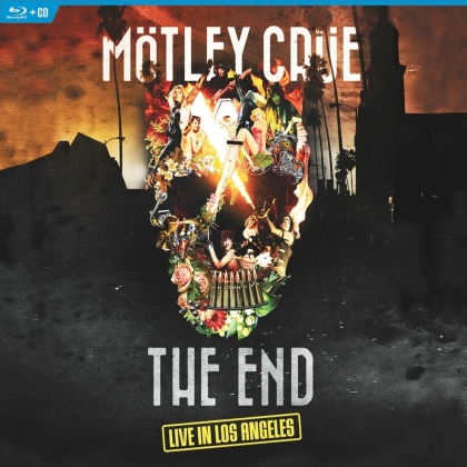 Mötley Crüe - The End - Live In Los Angeles (CD + DVD + Blu-ray)