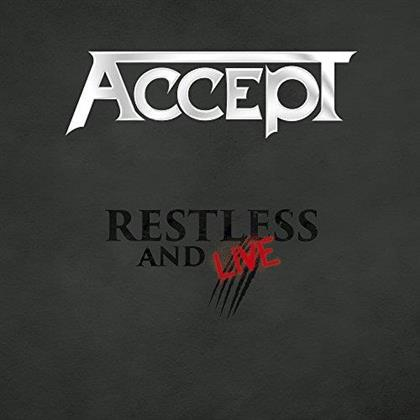 Accept - Restless And Live (Digipack, 2 CDs + DVD)