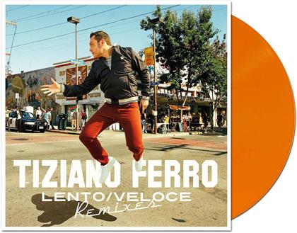 "Tiziano Ferro - Lento/Veloce Remixes (Limited Edition, Orange Vinyl, 2 10"" Maxis)"
