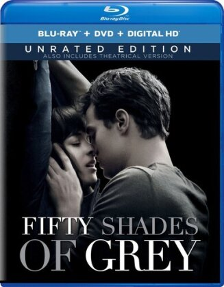 Fifty Shades of Grey (2015) (Unrated, Blu-ray + DVD)
