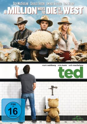 A Million Ways to Die in the West / Ted (2 DVDs)