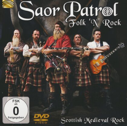 Saor Patrol - Folk 'n' Rock - Scottish Medieval Rock