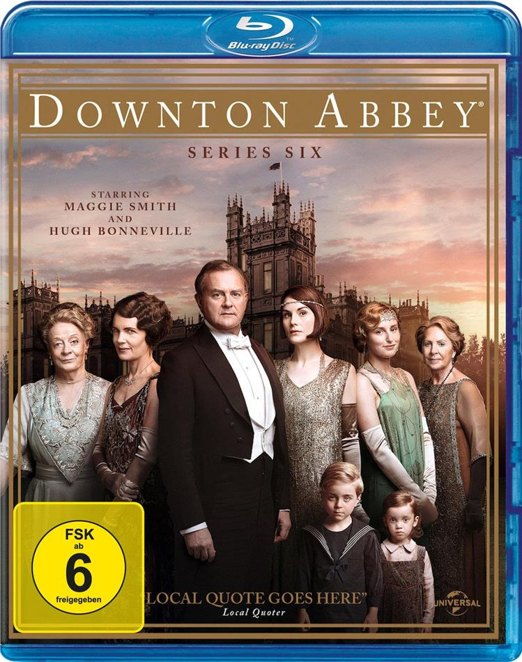 Downton Abbey - Staffel 6 (3 Blu-rays)