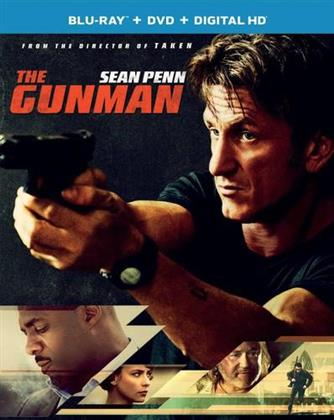 The Gunman (2015) (Blu-ray + DVD)