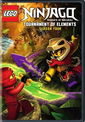 LEGO Ninjago: Masters of Spinjitzu - Season 4 (2 DVDs)