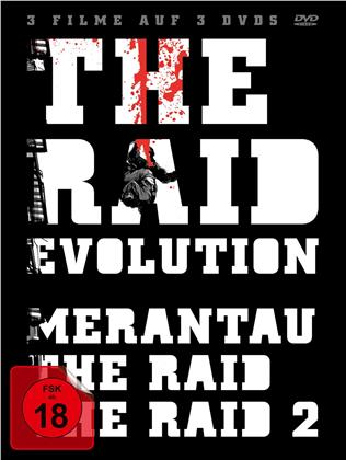 The Raid Evolution (3 DVDs)