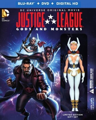 Justice League - Gods and Monsters (Deluxe Edition, Gift Set, Limited Edition, Blu-ray + DVD)