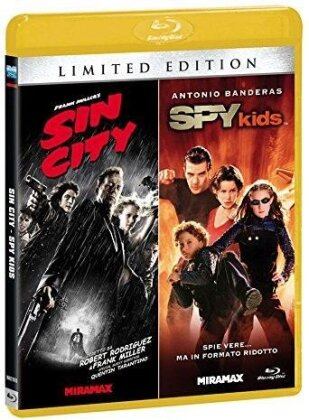 Sin City / Spy Kids (Limited Edition, 2 Blu-rays)