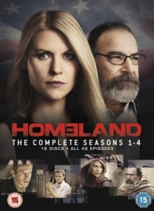 Homeland - Seasons 1 - 4 (16 DVDs)