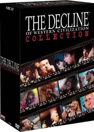 Fear, Black Flag, Germs, X, Circle Jerks, … - The Decline of Western Civilization Collection (Box, 4 DVDs)