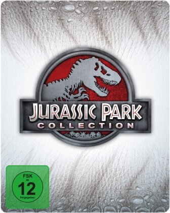 Jurassic Park Collection (Limited Edition, Steelbook, 4 Blu-rays)