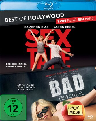 Sex Tape / Bad Teacher (Best of Hollywood, 2 Blu-rays)