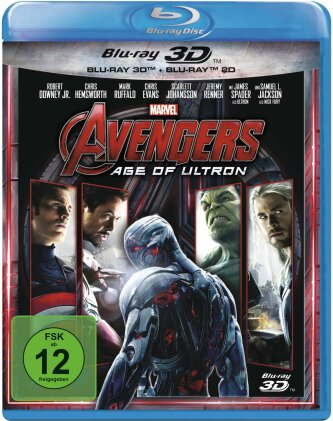 Avengers 2 - Age of Ultron (2015) (Blu-ray 3D + Blu-ray)