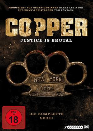 Copper - Justice Is Brutal - Die Komplette Serie (7 DVDs)