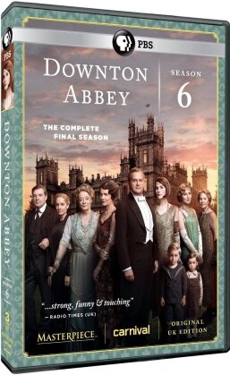 Downton Abbey - Season 6 - The Final Season (3 DVDs)