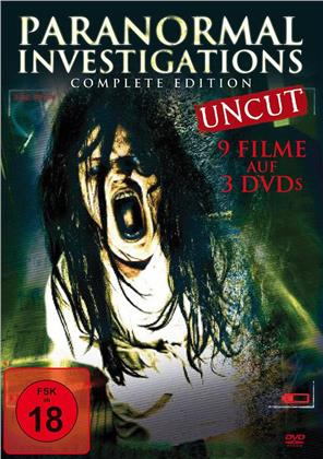 Paranormal Investigations (Complete Edition, Uncut, 3 DVDs)