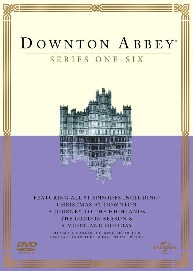 Downton Abbey - Series 1-6 (23 DVDs)