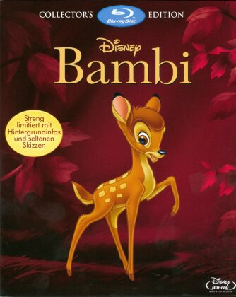 Bambi 1 & 2 (Digibook, Limited Collector's Edition, Limited Edition, 2 Blu-rays)