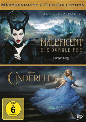 Maleficent - Die dunkle Fee / Cinderella (2 DVDs)