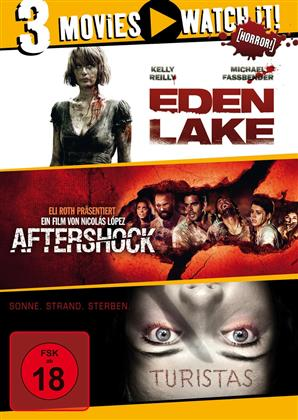 Eden Lake / Aftershock / Turistas (3 DVDs)