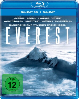 Everest (2015) (Blu-ray 3D + Blu-ray)