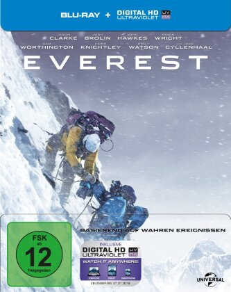 Everest (2015) (Limited Edition, Steelbook)