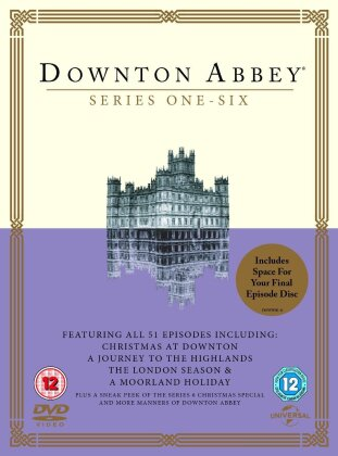 Downton Abbey - Season 1-6 (Includes Space for the Final Episode DVD, 23 DVDs)