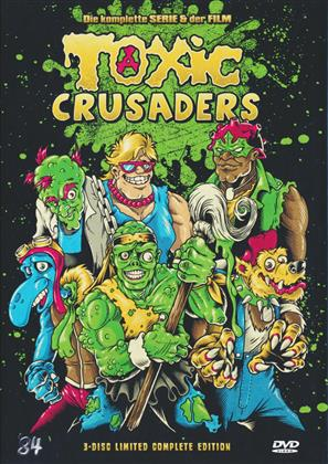 Toxic Crusaders - Die komplette Serie & der Film (Digibook, Limited Collector's Edition, 3 DVDs)