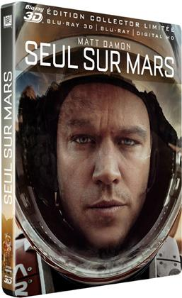 The Martian - Seul sur Mars (2015) (Limited Edition, Steelbook, Blu-ray 3D + Blu-ray)