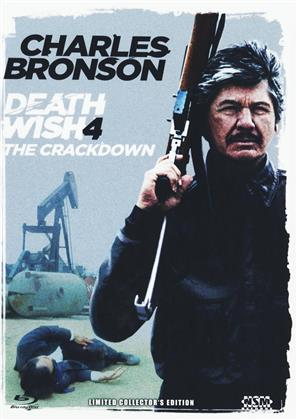 Death Wish 4 - The Crackdown (1987) (Cover B, Limited Collector's Edition, Mediabook, Blu-ray + DVD)